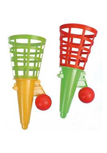 D5 Avenue Fangballspiel 18,5cm + Ball 2 Farben