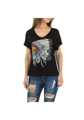 JCL Damen Shirt von JCL - schwarz