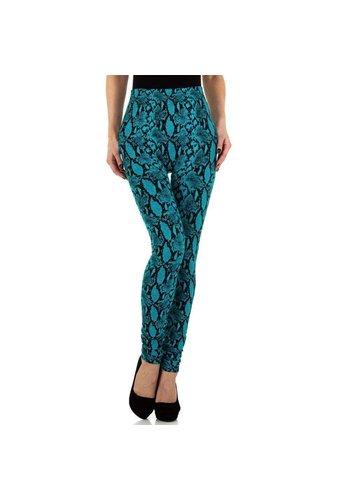 HOLALA Damenleggings von Holala Gr. One size - türkis schwarz