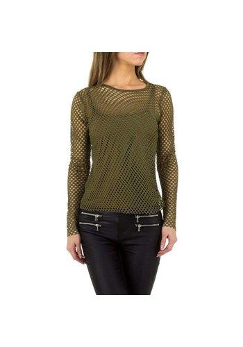 D5 Avenue Damen Shirt von JCL Gr. One Size - khaki