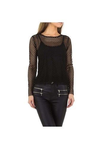 JCL Damen Shirt von JCL Gr. One Size - schwarz