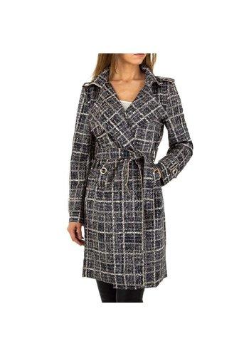 D5 Avenue Damen Mantel von Voyelles - grau