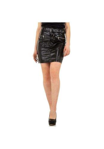 D5 Avenue Damen Rock von Laulia - schwarz