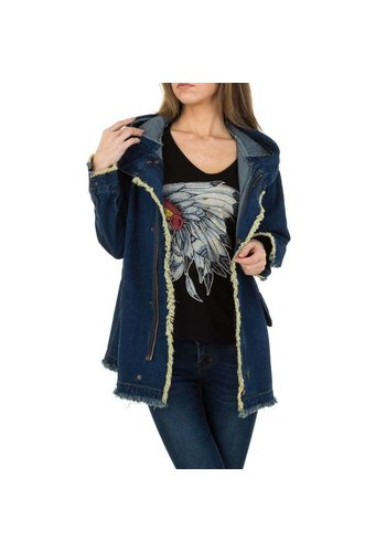 JCL Damen Jacke von JCL - blau