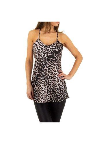 D5 Avenue Damen Top von Emmash Paris - leopard
