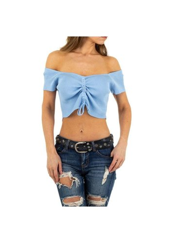 D5 Avenue Damenhemd von Emma & Ashley Design - blau
