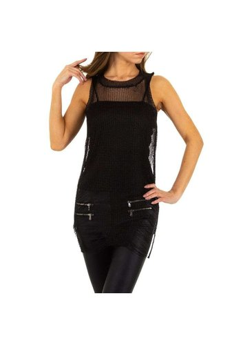 D5 Avenue Damenhemd von Emma & Ashley Design Gr. Einheitsgröße - schwarz