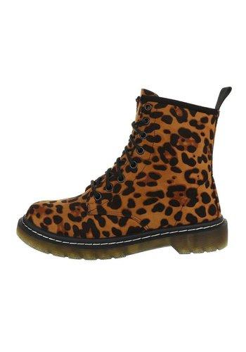D5 Avenue Damen Schn%FCrstiefeletten - leopard