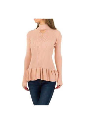 D5 Avenue Damen Pullover von Milas Gr. One Size - rose