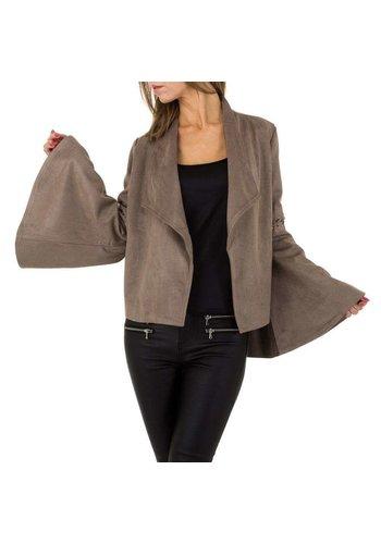 JCL Damen Jacke von JCL - taupe