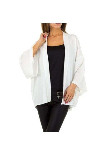 JCL Damen Jacke von JCL Gr. One Size - weiß