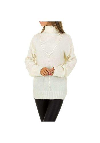 JCL Damen JCL Sweater - weiß