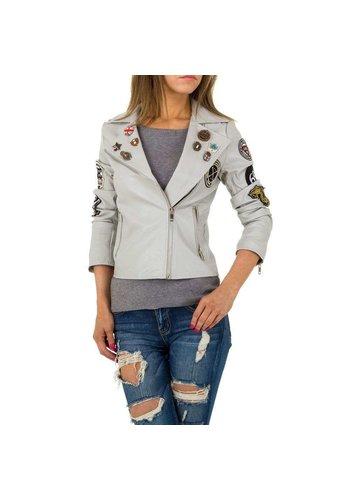 JCL Damen Jacke von JCL - grau