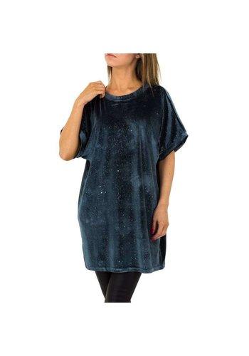 JCL Damen Tunika von JCL Gr. One Size - grey