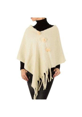 HOLALA Damen Strickjacke von Holala Gr. One Size - beige