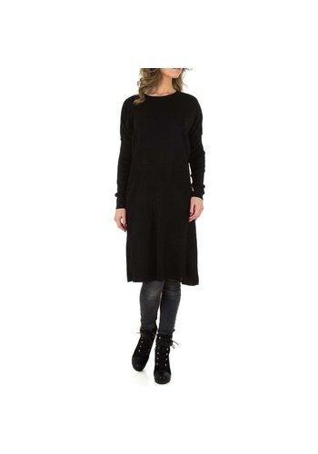 D5 Avenue Damenpullover von Milas Gr. Einheitsgröße - schwarz