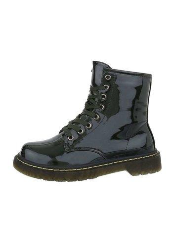 D5 Avenue Damen Boots  - D.grün