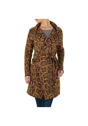 SHK PARIS Damen Mantel von SHK Paris Gr. One Size - senf