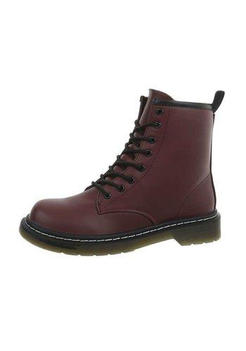 D5 Avenue Damen Boots - weinrot