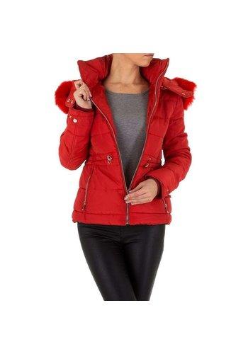 D5 Avenue Damen Jacke von Emmash - rot