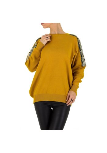 D5 Avenue Frauen Sweatshirt Gr. one size - gelb