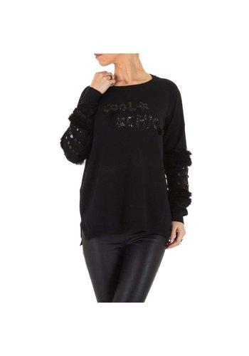 D5 Avenue Frauen Sweatshirt Gr. one size - schwarz