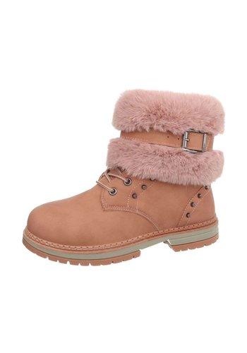 D5 Avenue Damen Schn%FCrstiefeletten - pink