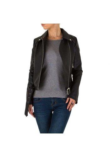 D5 Avenue Damen Jacke von Voyelles - schwarz