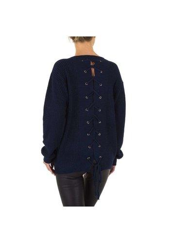 EMMA&ASHLEY Damen Pullover von Emma&Ashley Gr. one size - D.blau