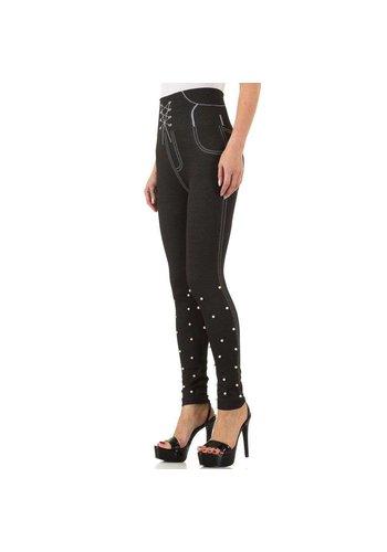 FASHION DESIGN Frauen Leggings von Fashion Design Gr. eine Größe - schwarz