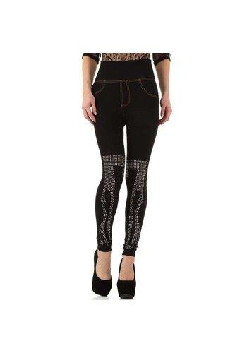 D5 Avenue Damenleggings von D & M Fashion Design Gr. eine Größe - schwarz
