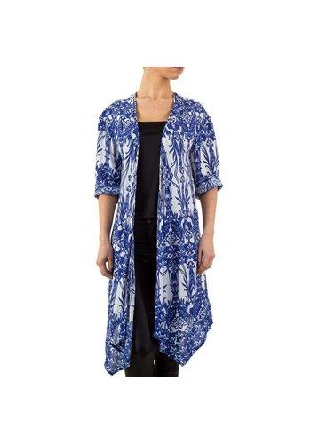 D5 Avenue Damen Jacke von Iclothing - blau