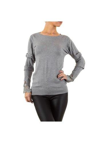 MOEWY Damen Pullover von Moewy Gr. one size - grau