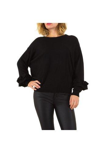 MOEWY Damen Pullover von Moewy Gr. one size - schwarz