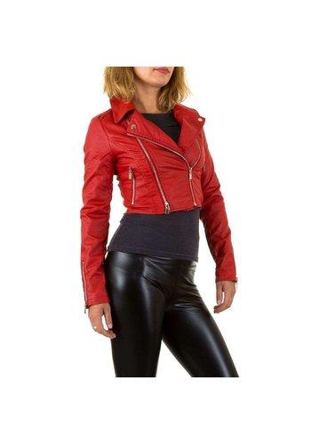 D5 Avenue Damen Jacke - rot