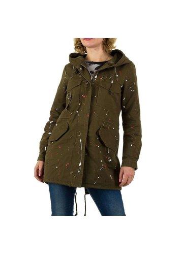 SHK PARIS Damen Jacke von Shk Paris - khaki