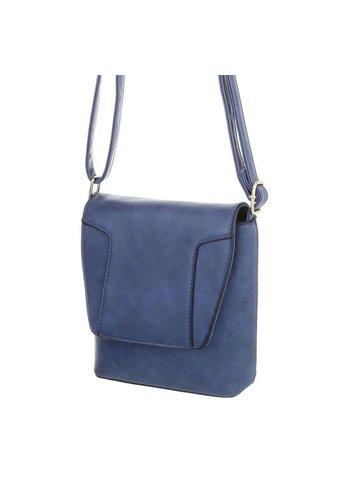 D5 Avenue Damen Schultertasche-blue