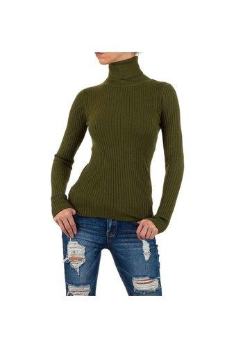 D5 Avenue Frauen Sweatshirt Gr. one size - grün