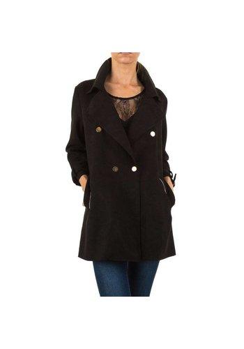D5 Avenue Damen Mantel - schwarz