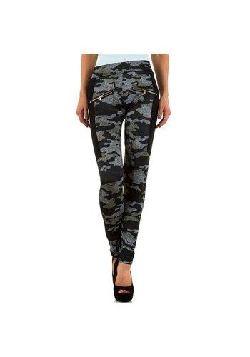 BEST FASHION Frauen Leggings von Best Fashion - khaki