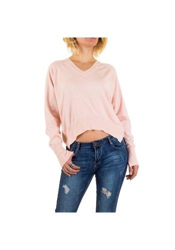 D5 Avenue Damen Pullover von Jcl Paris - rose