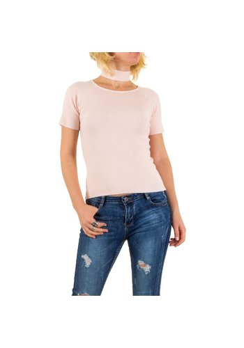 D5 Avenue Damen Pullover von Jcl Paris Gr. one size - rose