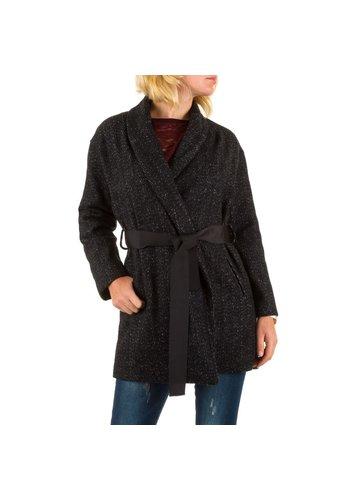 JCL Damen Mantel von Jcl - schwarz