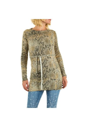 BY JULIE Lady Tunic von By Julie - gelb