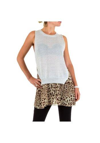 D5 Avenue Damen Tunika von Warrior Gr. one size - silber