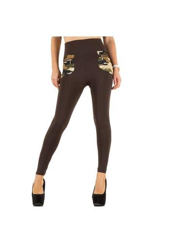 BEST FASHION Frauen Leggings von Best Fashion Gr. eine Größe - braun