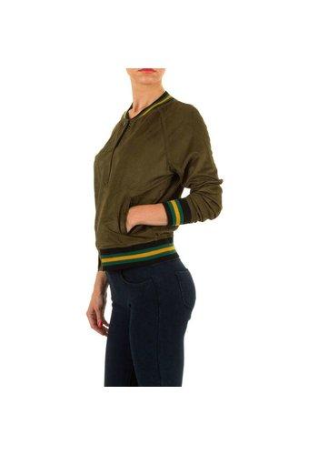 JCL Damen Jacke von Jcl - khaki