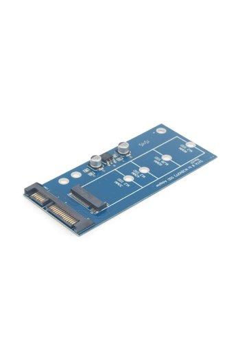 CableXpert M.2 (NGFF) zu Micro SATA 1.8' SSD Adapterkarte