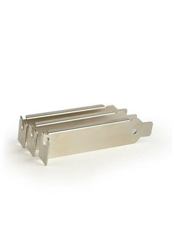 Gembird PCI / PCI-E Slotblech, unbelüftet (3 Stück)