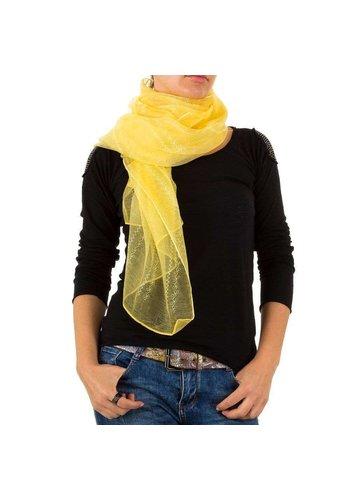 BEST FASHION Damen Schal von Best Fashion Gr. one size - gelb
